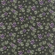 Moda - Summer on The Pond by Holly Taylor - 5723 - Lilypad Floral , Green  - 6721 17 - Cotton Fabric